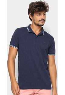 Camisa Polo Colcci Logo Masculina - Masculino-Azul Claro