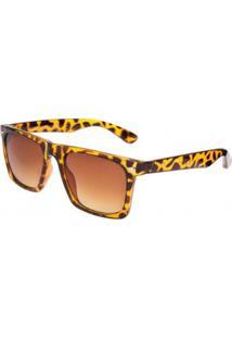 Óculos Ray Flector Balham Underground W2450 Co - Feminino-Onça