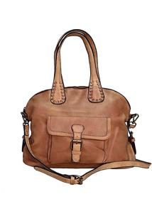 Bolsa Its! Shopper Bolso Frontal Caramelo