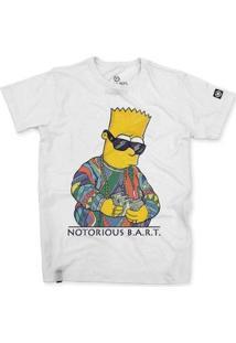 Camiseta Stoned Notorious Bart Masculina - Masculino