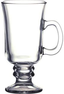 Caneca De Vidro Irish Coffee 285 Ml