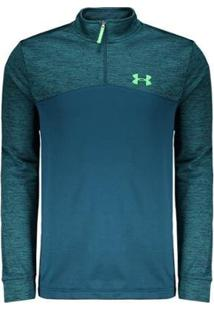 Blusa Under Armour Fleece 1/4 Zip Masculina - Masculino