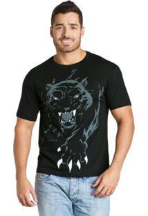 Camiseta Preta Manga Curta