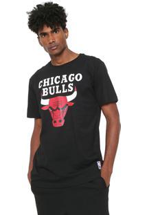 Camiseta Nba Chicago Bulls Preta
