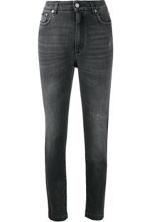 Dolce & Gabbana Calça Jeans Skinny - Cinza