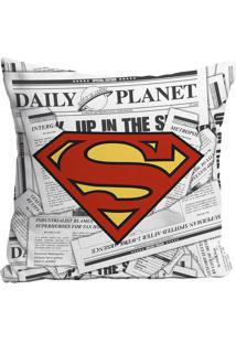 Capa Para Almofada Supermanâ®- Cinza Claro & Vermelhaurban