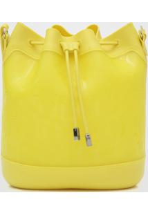 Bolsa Colcci Cordão Amarela