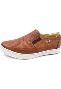 Sapatênis Slip On Shoes Grand Caramelo