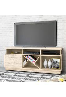 Rack Para Tv Gabriele Até 65 Polegadas 501022 Rústico - Madetec