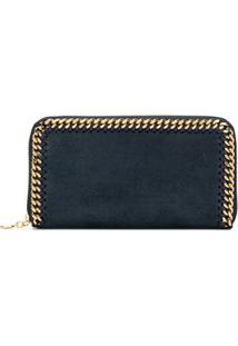 Stella Mccartney Carteira Continental Falabella - Azul