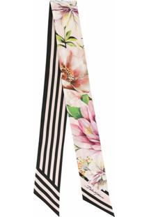 Dolce & Gabbana Lenço Com Estampa - Rosa