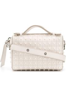 Tod'S Studded Cross-Body Bag - Branco
