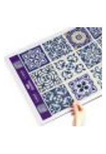 Adesivo De Azulejo Royal 10X10 Cm Com 50Un