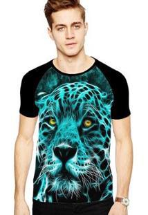 Camiseta Stompy Raglan Modelo 164 Masculina - Masculino
