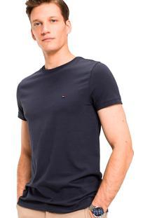 Camiseta Tommy Hilfiger Masculina Tees Azul Marinho