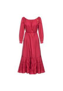 Vestido Pitanga - Vinho