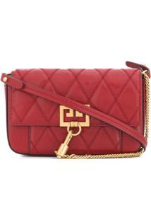 Givenchy Bolsa Transversal Matelass㪠Gv3 - Vermelho