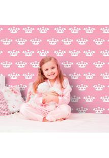 Papel De Parede Coração De Princesa Pink
