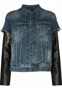 R13 Jaqueta Jeans Sky - Azul