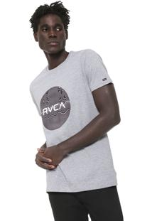 Camiseta Rvca Motors Cinza