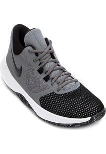 Tênis Nike Air Precision Ii Masculino - Masculino-Cinza+Preto