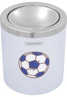 Lixeira Infantil 5L De Plástico Com Tampa Basculante. Azul, Le Petit - Tramontina
