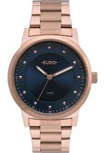Relógio Euro Bicolor Trendy Feminino - Feminino