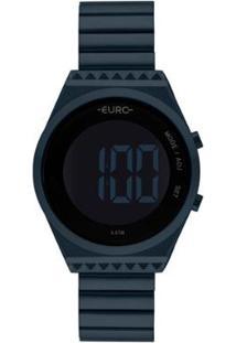 Relógio Euro Fashion Fit Slim Feminino - Feminino-Azul