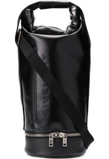 Givenchy Large Jaw Hybrid Backpack - Preto