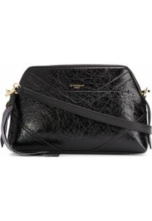 Givenchy Bolsa Transversal Com Efeito Enrugado - Preto