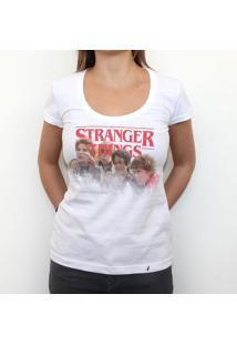 Stranger Goonies - Camiseta Clássica Feminina