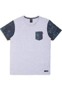Camiseta Oakley Especial Flower Gear Classic Sp Tee - Masculino-Cinza