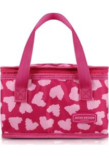 Bolsa Térmica Jacki Design Bem-Estar Rosa - Kanui