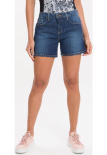 Bermuda Jeans - Marinho - 36