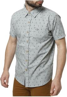 Camisa Manga Curta Masculina Gangster - Masculino