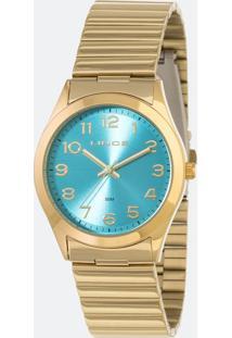 Kit Relógio Feminino Lince Lrg4455L-Kt80A2Kx Analógico 5Atm + Pulseira