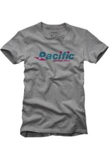 Camiseta Reserva Pacific Masculina - Masculino-Cinza