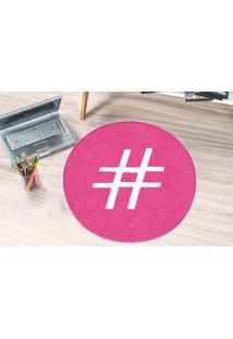 Tapete Guga Tapetes De Pelúcia Hashtag Pink