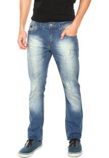 Calça Jeans Triton Gilson Azul