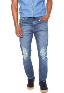 Calça Jeans Colcci Skinny Enrico Azul