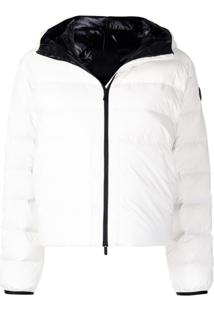 Moncler Anwar Hooded Down Jacket - Branco