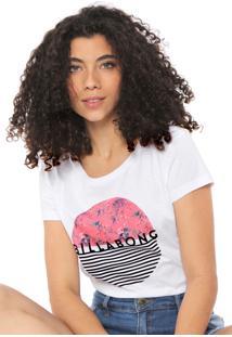 Camiseta Billabong Summer Colors Branca