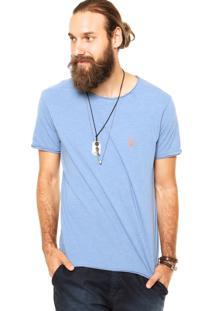 Camiseta Sergio K Tag Azul
