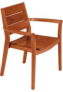 Cadeira Para Área Externa Ii Toscana Marrom