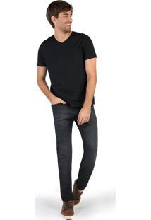 Calça Jeans Super Skinny Black