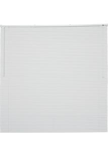 Persiana Horizontal Em Pvc Off 130X100Cm Branca