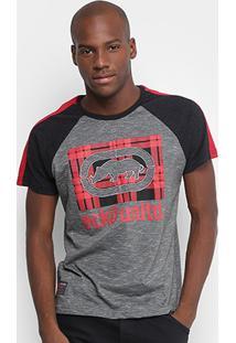 Camiseta Ecko Ek Xadrez Masculina - Masculino