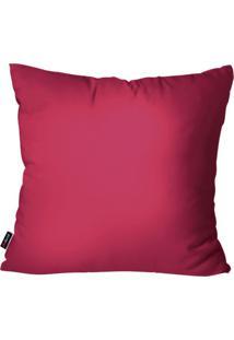 Capa De Almofada Pump Up Decorativa Avulsa Pink 45X45Cm