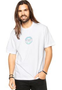 Camiseta Quiksilver Frizbee Branco