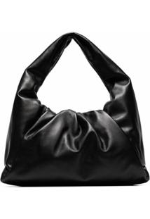 Bottega Veneta Bolsa The Shoulder Pouch - Preto